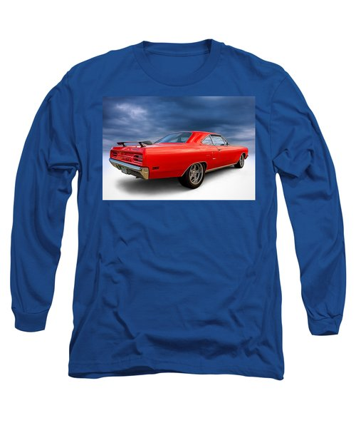 '70 Roadrunner Long Sleeve T-Shirt by Douglas Pittman