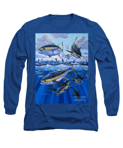 Tuna Rampage Off0018 Long Sleeve T-Shirt by Carey Chen