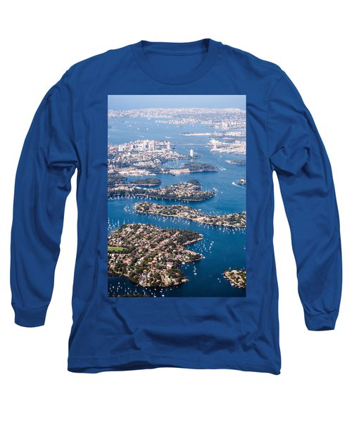 Sydney Vibes Long Sleeve T-Shirt by Parker Cunningham