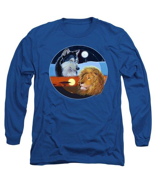 Celestial Kings Circular Long Sleeve T-Shirt by J L Meadows