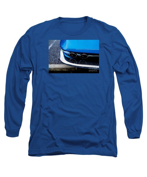 Long Sleeve T-Shirt featuring the photograph 1965 Corvette Sting Ray by M G Whittingham