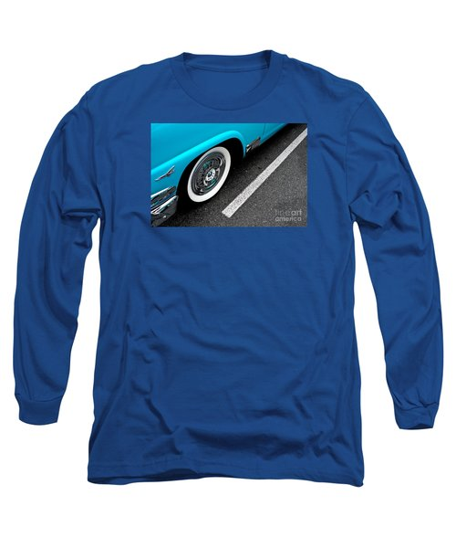 Long Sleeve T-Shirt featuring the photograph 1958 Ford Crown Victoria by M G Whittingham