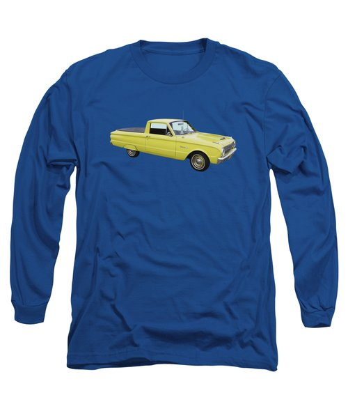 1962 Ford Falcon Pickup Truck Long Sleeve T-Shirt by Keith Webber Jr