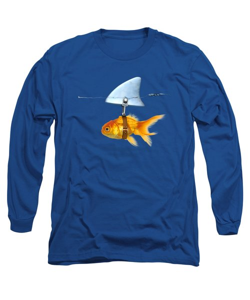 Gold Fish  Long Sleeve T-Shirt by Mark Ashkenazi