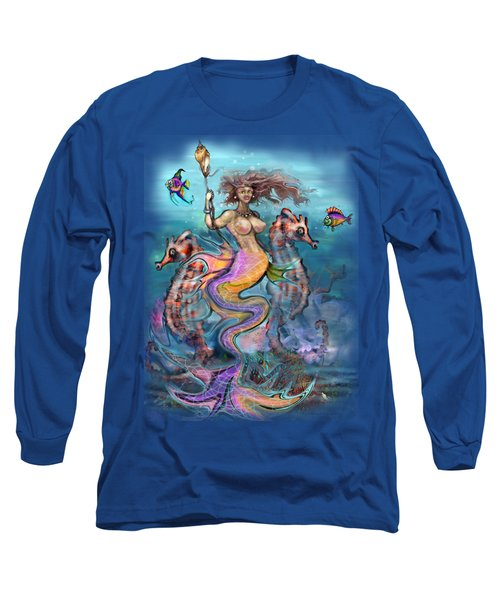 Mermaid Long Sleeve T-Shirt by Kevin Middleton