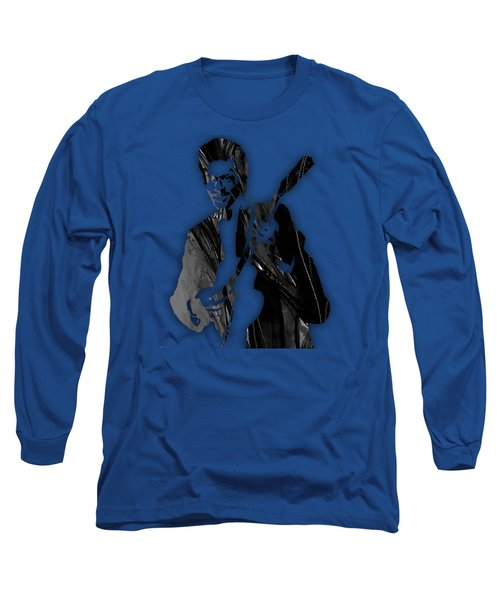 Chuck Berry Collection Long Sleeve T-Shirt by Marvin Blaine
