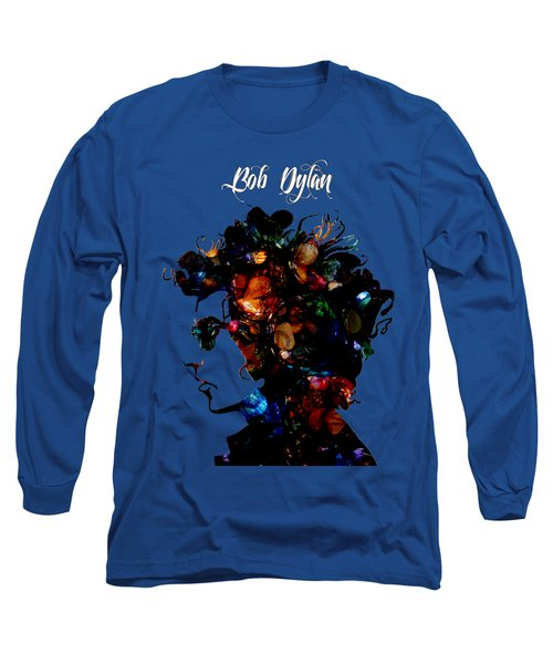 Bob Dylan Collection Long Sleeve T-Shirt by Marvin Blaine