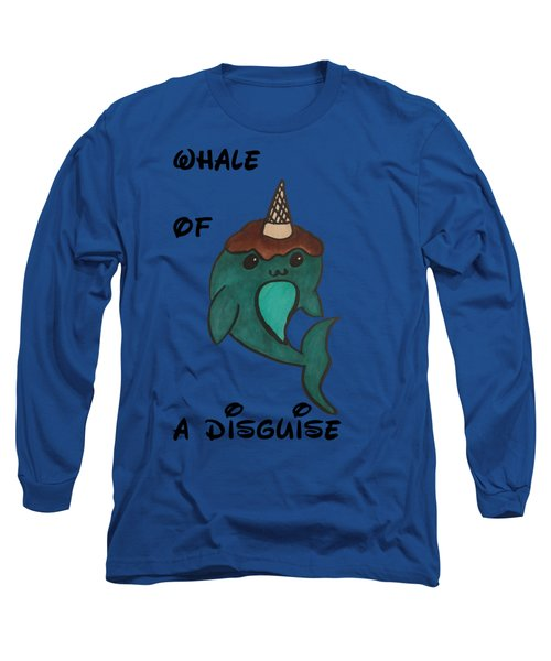 a Whale of a disguise Long Sleeve T-Shirt by Darci Smith