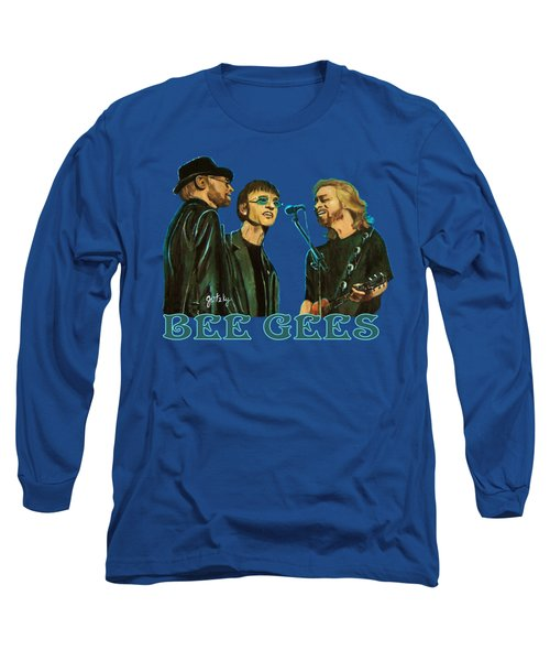 Bee Gees Long Sleeve T-Shirt by Paintings by Gretzky