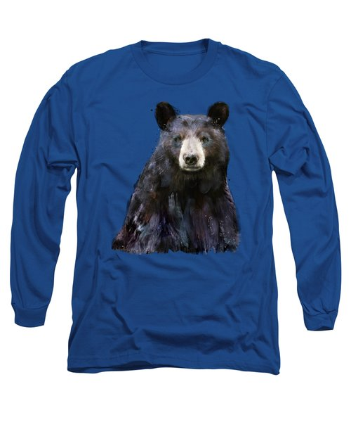 Black Bear Long Sleeve T-Shirt by Amy Hamilton