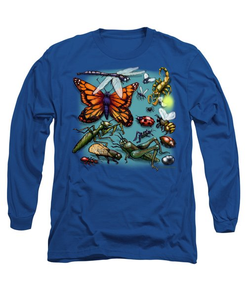 Bugs Long Sleeve T-Shirt by Kevin Middleton