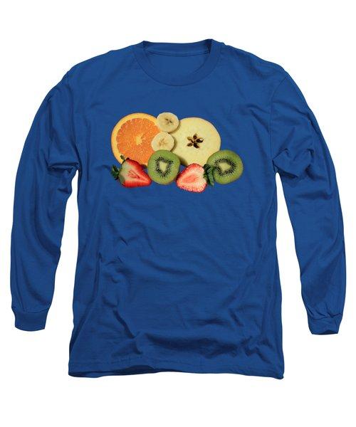 Cut Fruit Long Sleeve T-Shirt by Shane Bechler