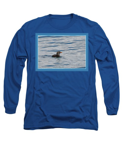 Floating Rhino Long Sleeve T-Shirt by BYETPhotography