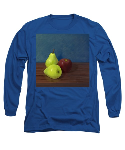 Fruit On A Table Long Sleeve T-Shirt by Jacqueline Barden