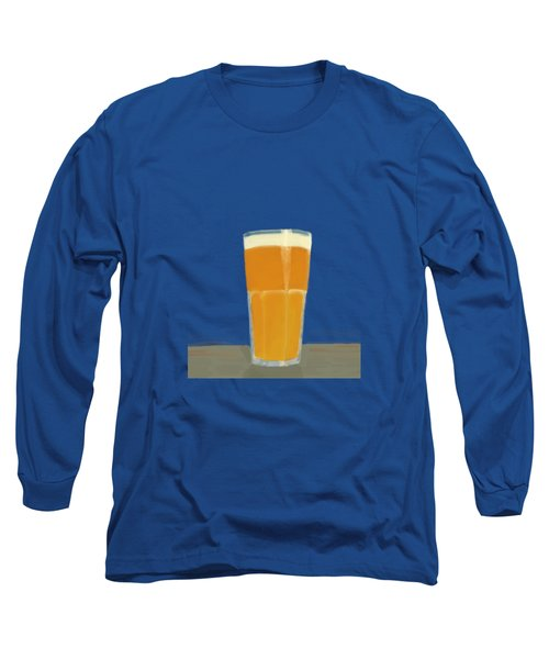 Glass Full Of.. Long Sleeve T-Shirt by Keshava Shukla