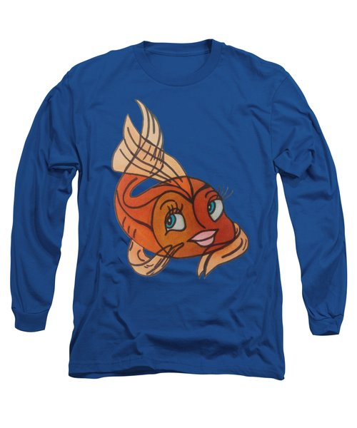 Goldie Long Sleeve T-Shirt by Darci Smith