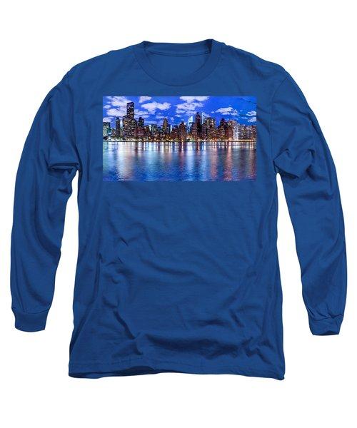 Gothem Long Sleeve T-Shirt by Az Jackson