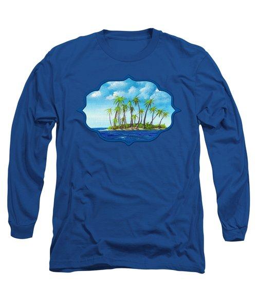 Little Island Long Sleeve T-Shirt by Anastasiya Malakhova