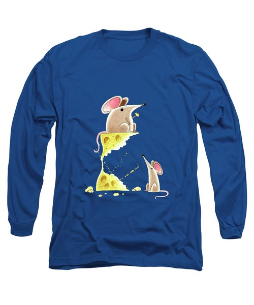 Living Dangerously  Long Sleeve T-Shirt by Andrew Hitchen