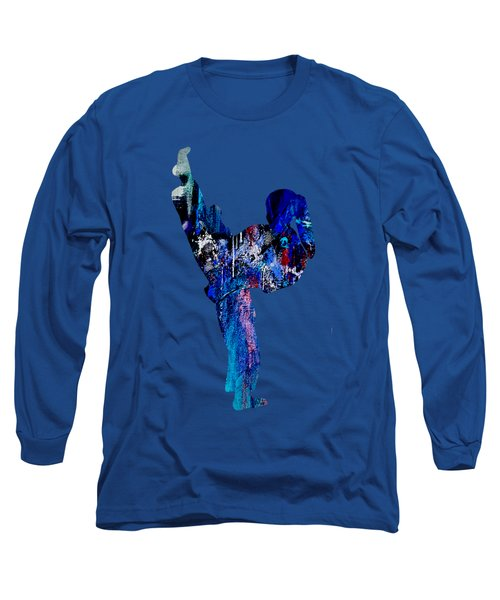 Martial Arts Long Sleeve T-Shirt by Marvin Blaine