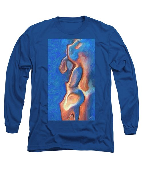 Merman Long Sleeve T-Shirt by Joaquin Abella