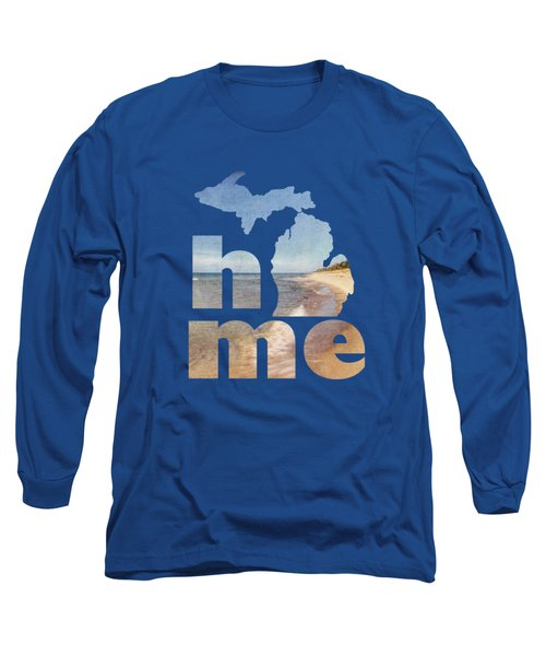 Michigan Home Long Sleeve T-Shirt by Emily Kay