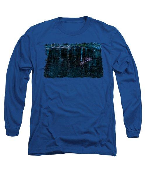 Midnight Spring Long Sleeve T-Shirt by John M Bailey