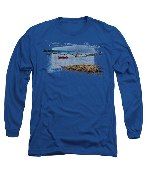 Moorings 2 Long Sleeve T-Shirt by John M Bailey