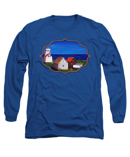 North Rustico - Prince Edwards Island Long Sleeve T-Shirt by Anastasiya Malakhova