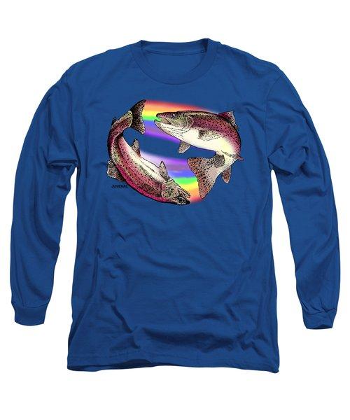 Pisces Artist Long Sleeve T-Shirt by Joseph Juvenal