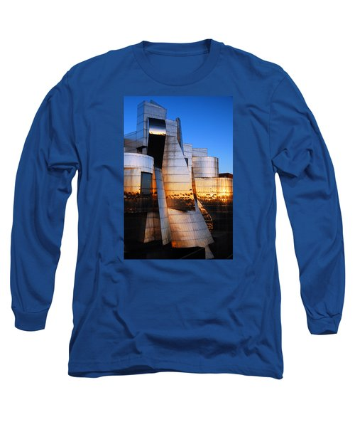 Reflections Of Sunset Long Sleeve T-Shirt by James Kirkikis