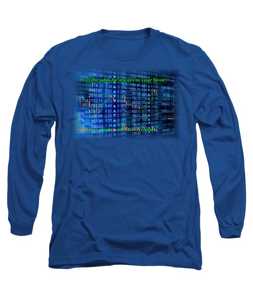 Stock Exchange Long Sleeve T-Shirt by Anastasiya Malakhova