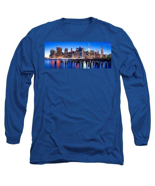 Magic Manhattan Long Sleeve T-Shirt by Az Jackson