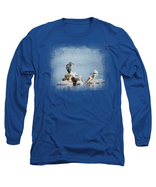 Support Group Long Sleeve T-Shirt by Jai Johnson