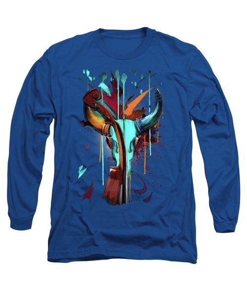 Taurus Long Sleeve T-Shirt by Melanie D