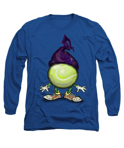 Tennis Wiz Long Sleeve T-Shirt by Kevin Middleton