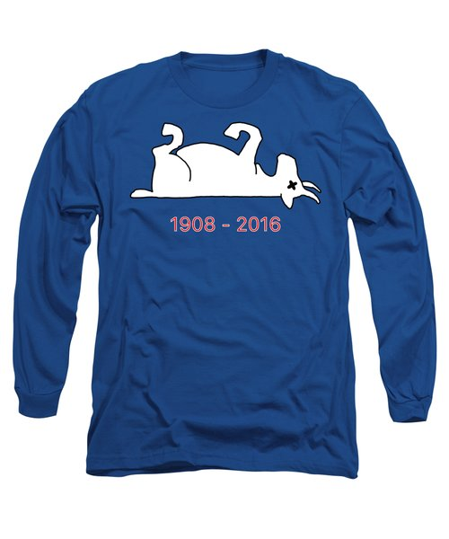 The Goat Is Dead Long Sleeve T-Shirt by Larry Scarborough