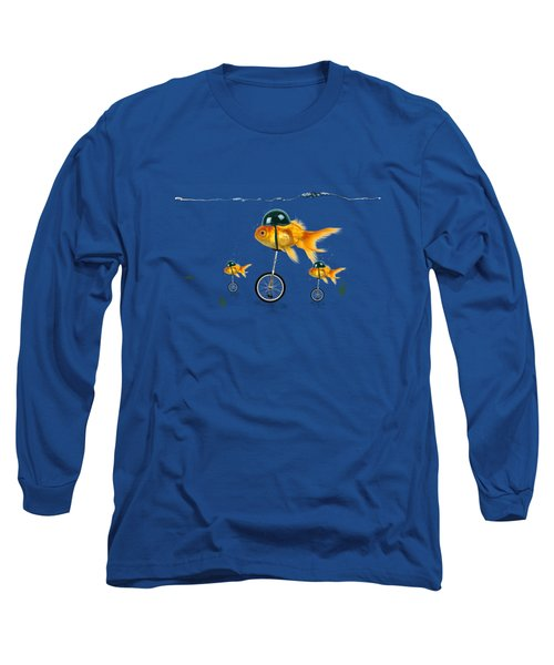 The Race  Long Sleeve T-Shirt by Mark Ashkenazi