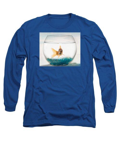 Tiger Fish Long Sleeve T-Shirt by Juli Scalzi