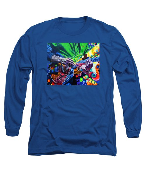 Trey Anastasio 4 Long Sleeve T-Shirt by Kevin J Cooper Artwork