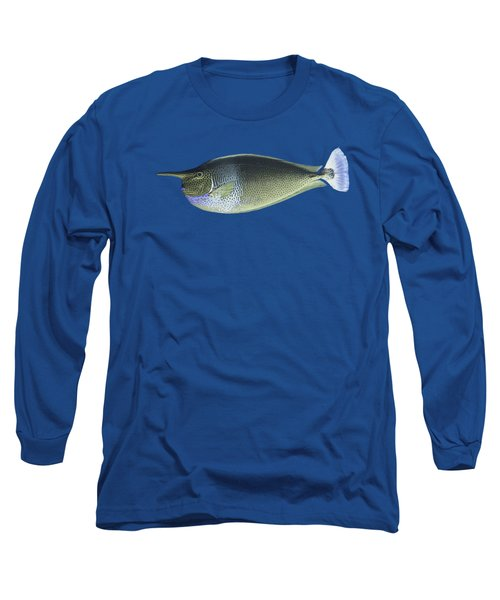 Unicorn Fish Long Sleeve T-Shirt by Roy Pedersen