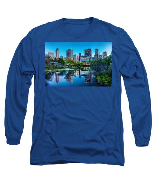 Urban Oasis Long Sleeve T-Shirt by Az Jackson