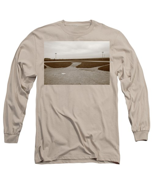 Baseball Long Sleeve T-Shirt by Frank Romeo