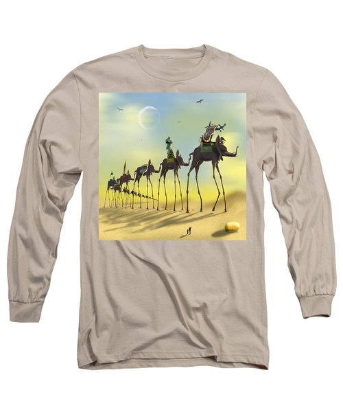 On The Move Long Sleeve T-Shirt by Mike McGlothlen