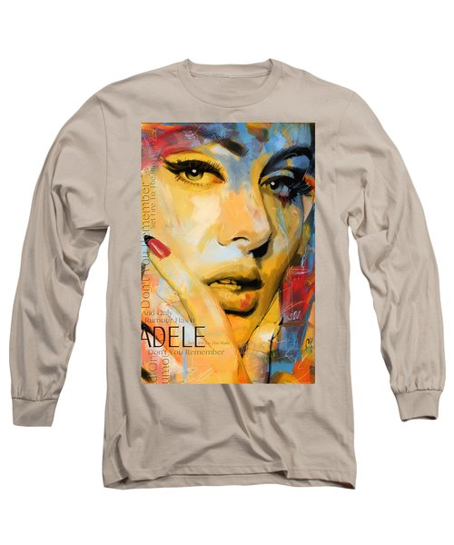 Adele Long Sleeve T-Shirt by Corporate Art Task Force