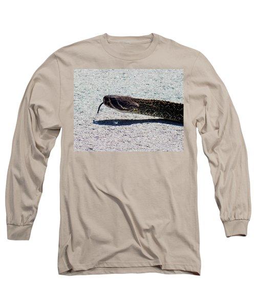 Beware Of Me Long Sleeve T-Shirt by Karen Wiles