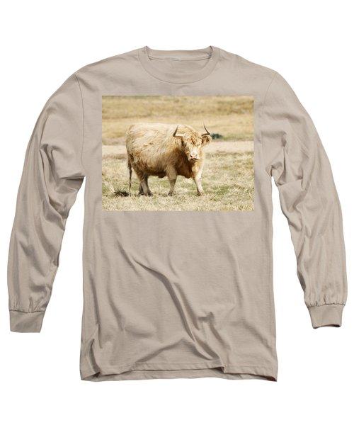Blondie Long Sleeve T-Shirt by Marilyn Hunt