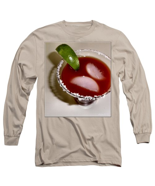 Bloody Mary Long Sleeve T-Shirt by Tonie Cook