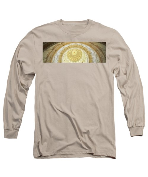 Ceiling Of The Dome Of The Texas State Long Sleeve T-Shirt by Panoramic Images