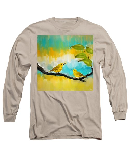 Companionship Long Sleeve T-Shirt by Lourry Legarde